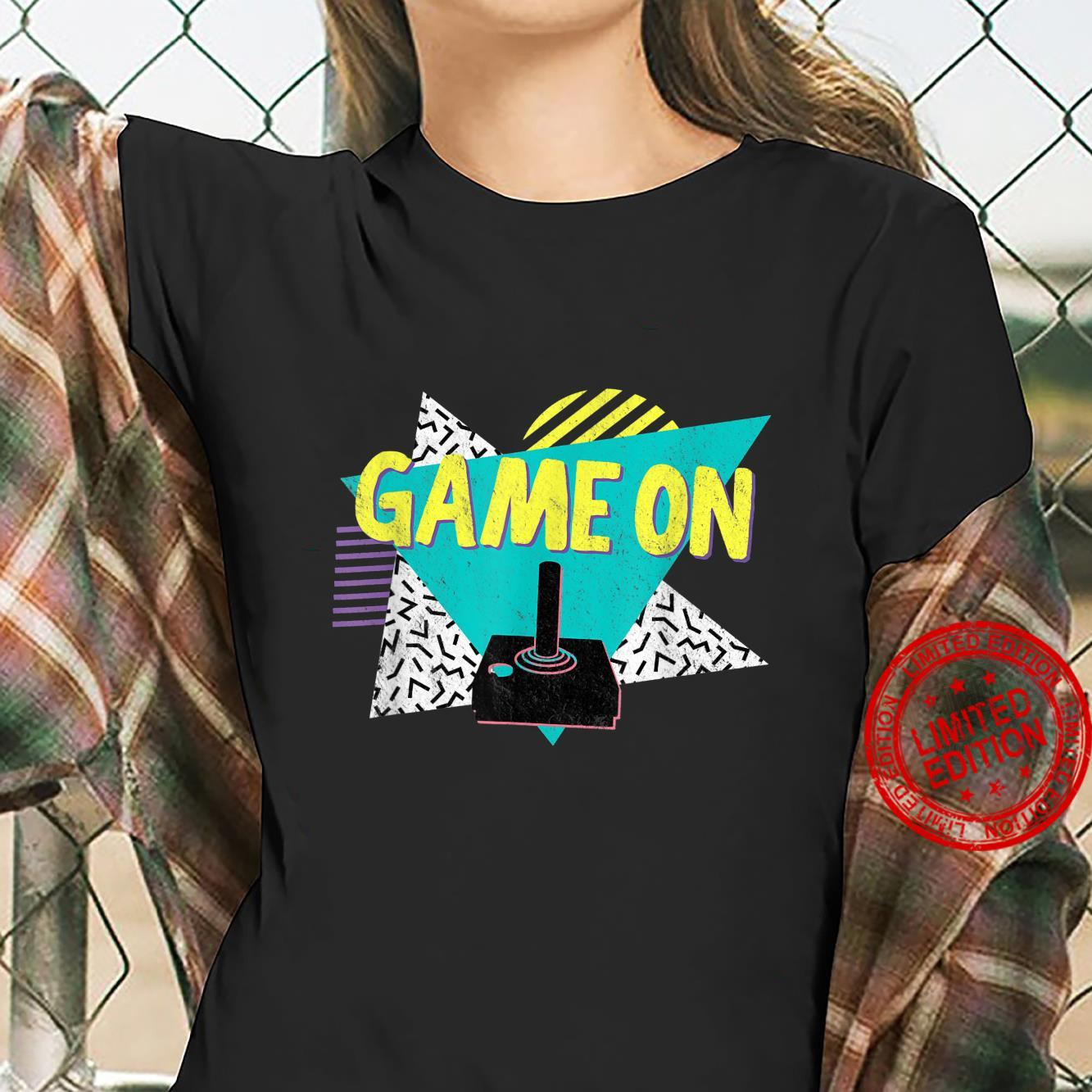 70s or 80s Retro Vintage Video Game Shirt ladies tee