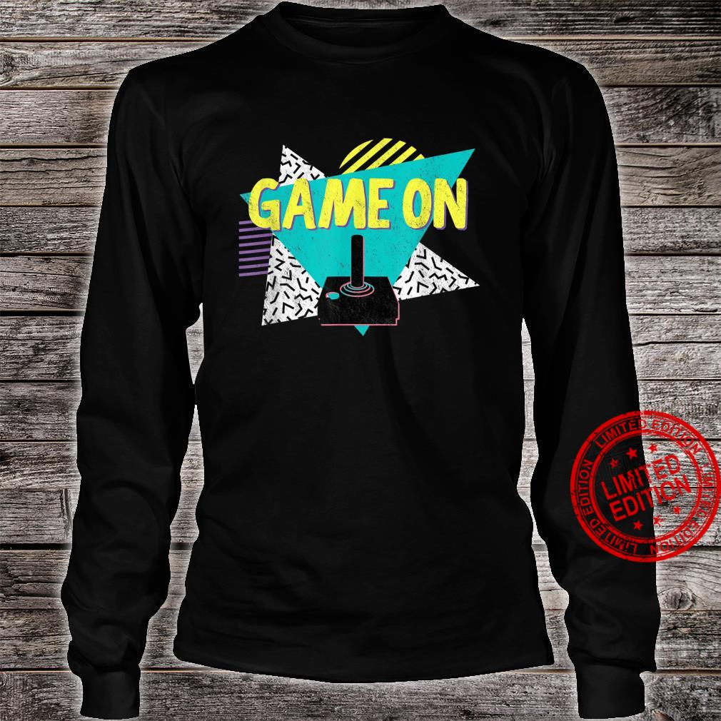 70s or 80s Retro Vintage Video Game Shirt long sleeved