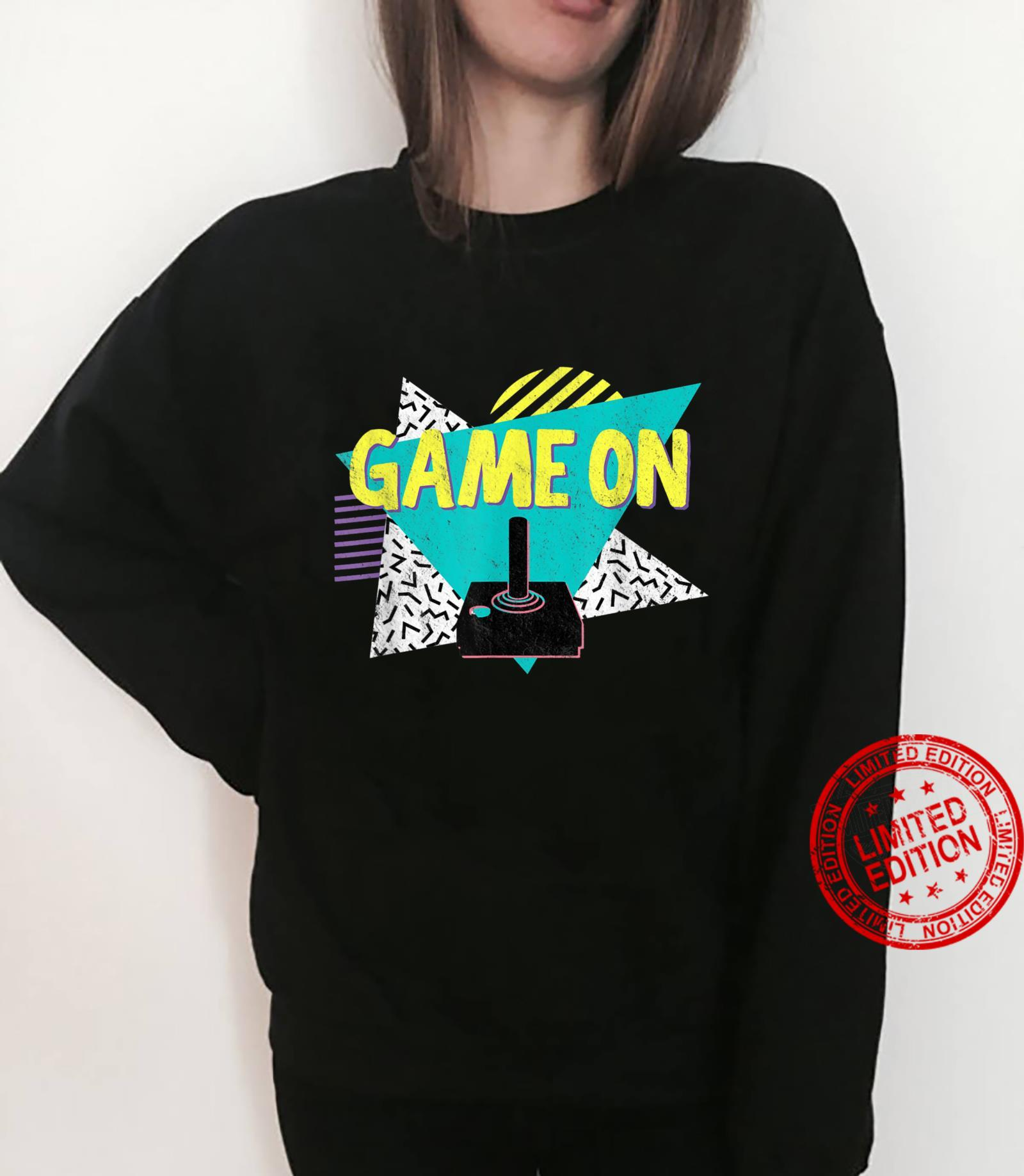 70s or 80s Retro Vintage Video Game Shirt sweater