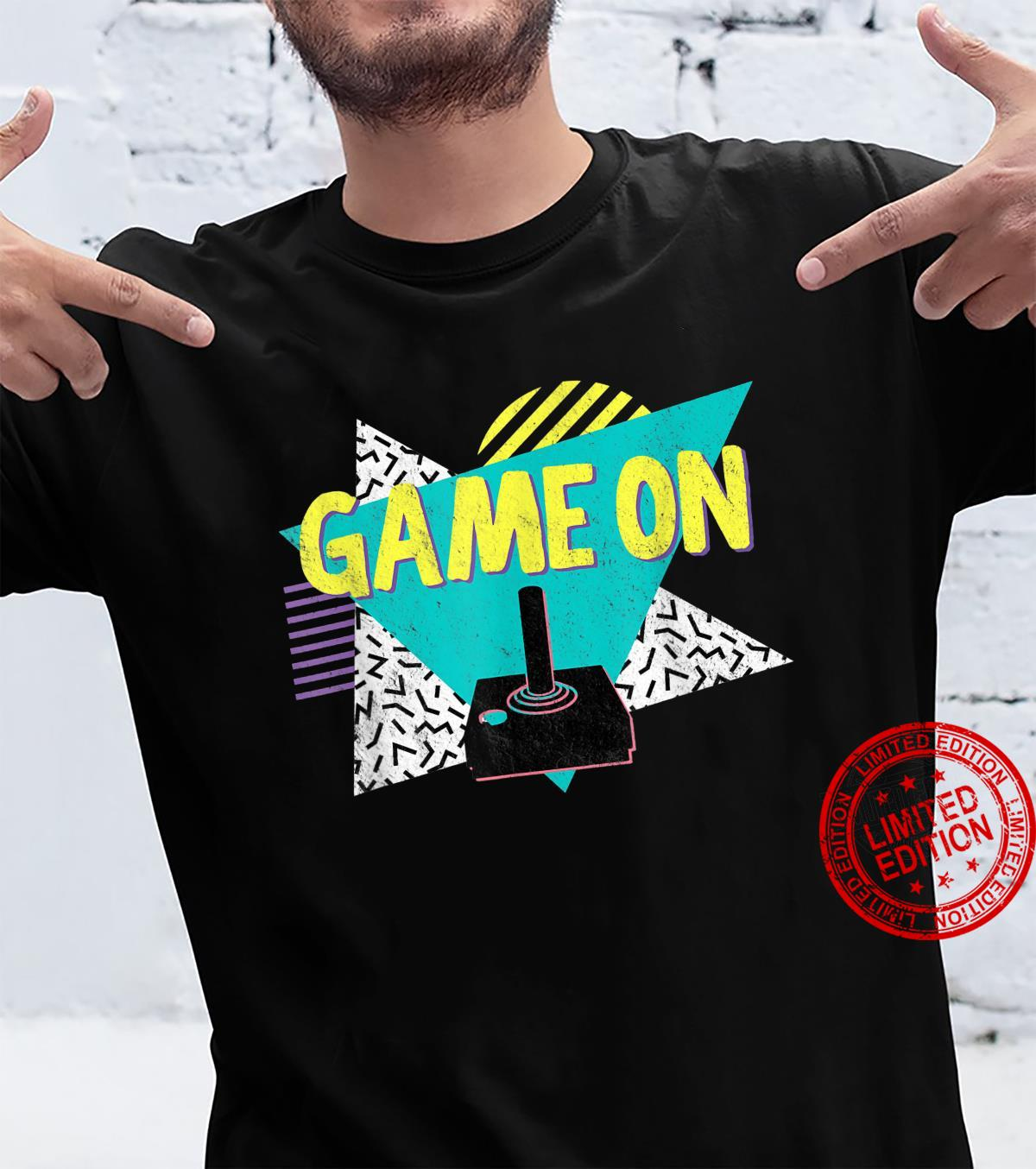 70s or 80s Retro Vintage Video Game Shirt