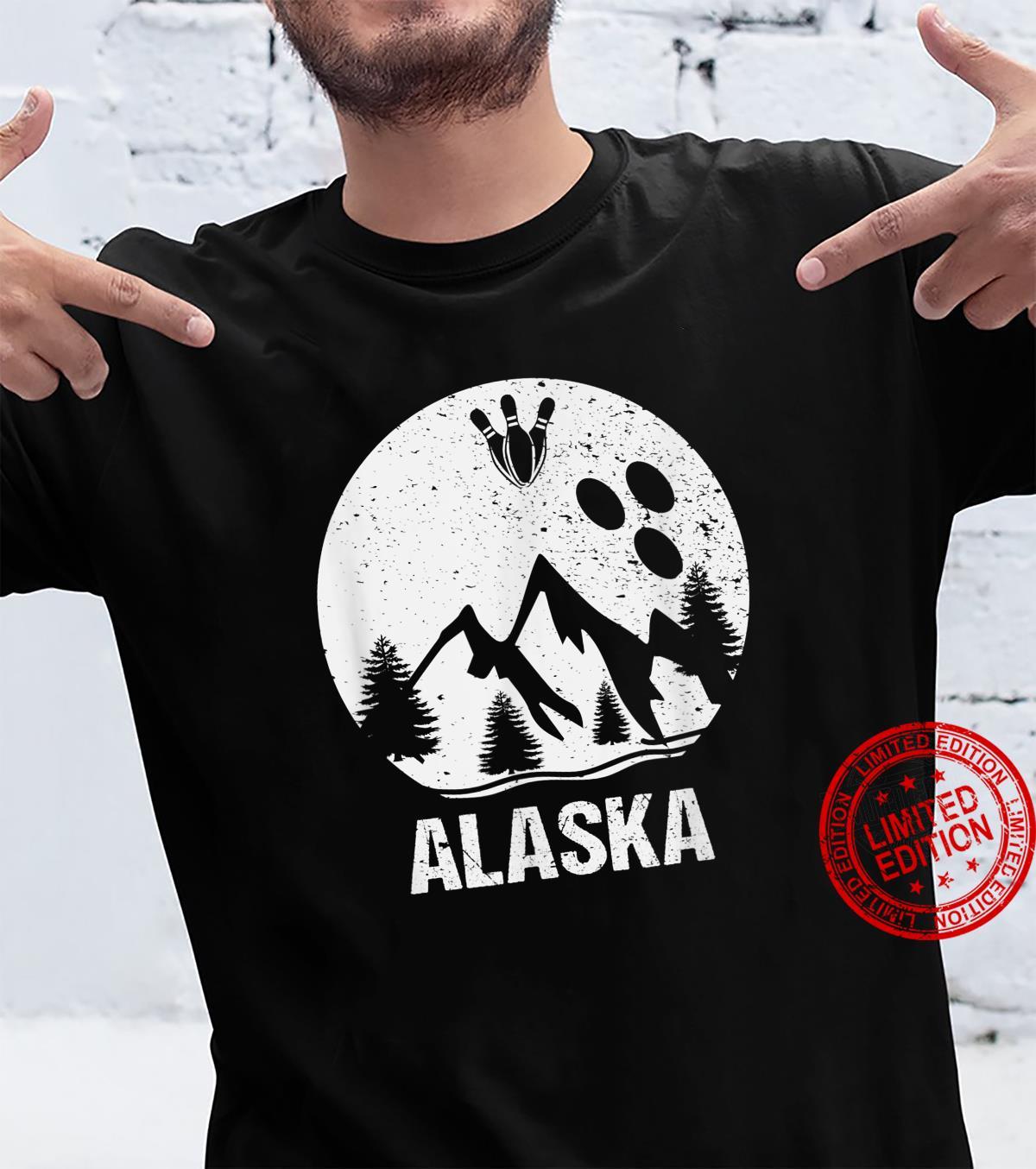 Alaska National Park Bowling Vintage Shirt