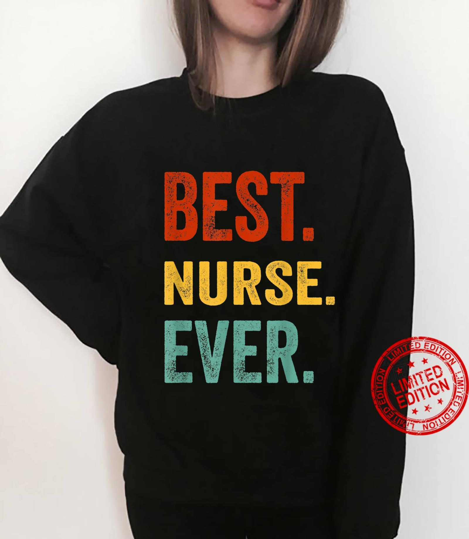Best Nurse Ever Hospital Staff Nurse Doctor Appareal Shirt sweater