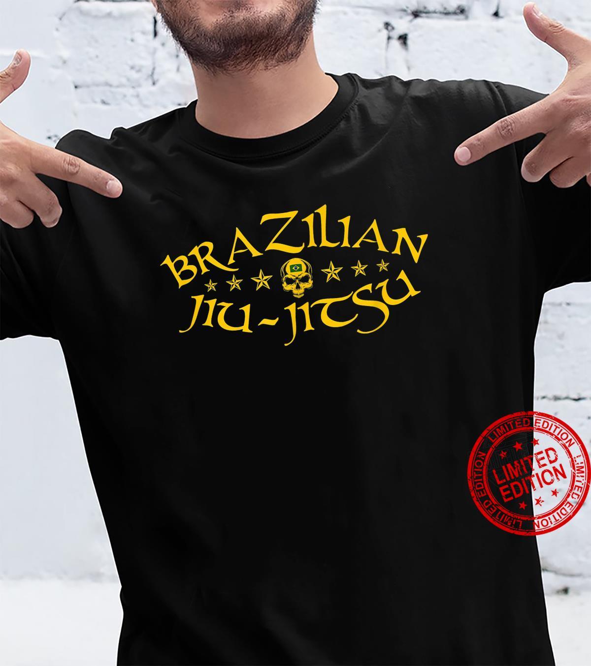 Brazilian JiuJitsu Schädel Shirt