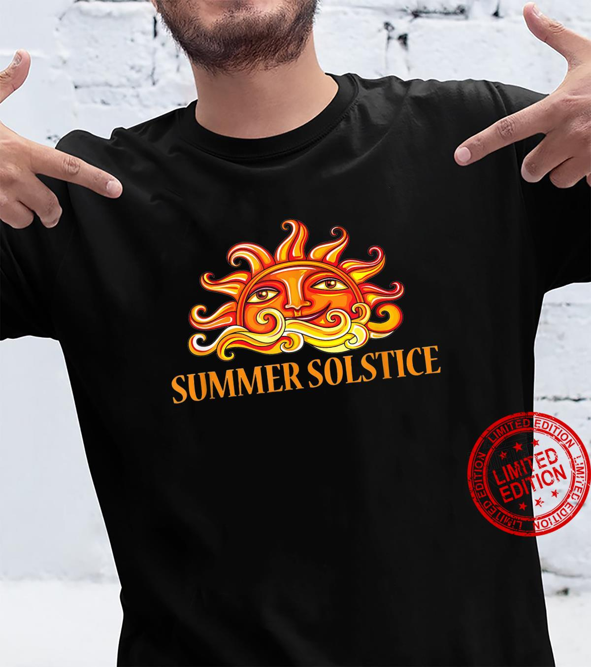 Curly Sun Summer Solstice Shirt