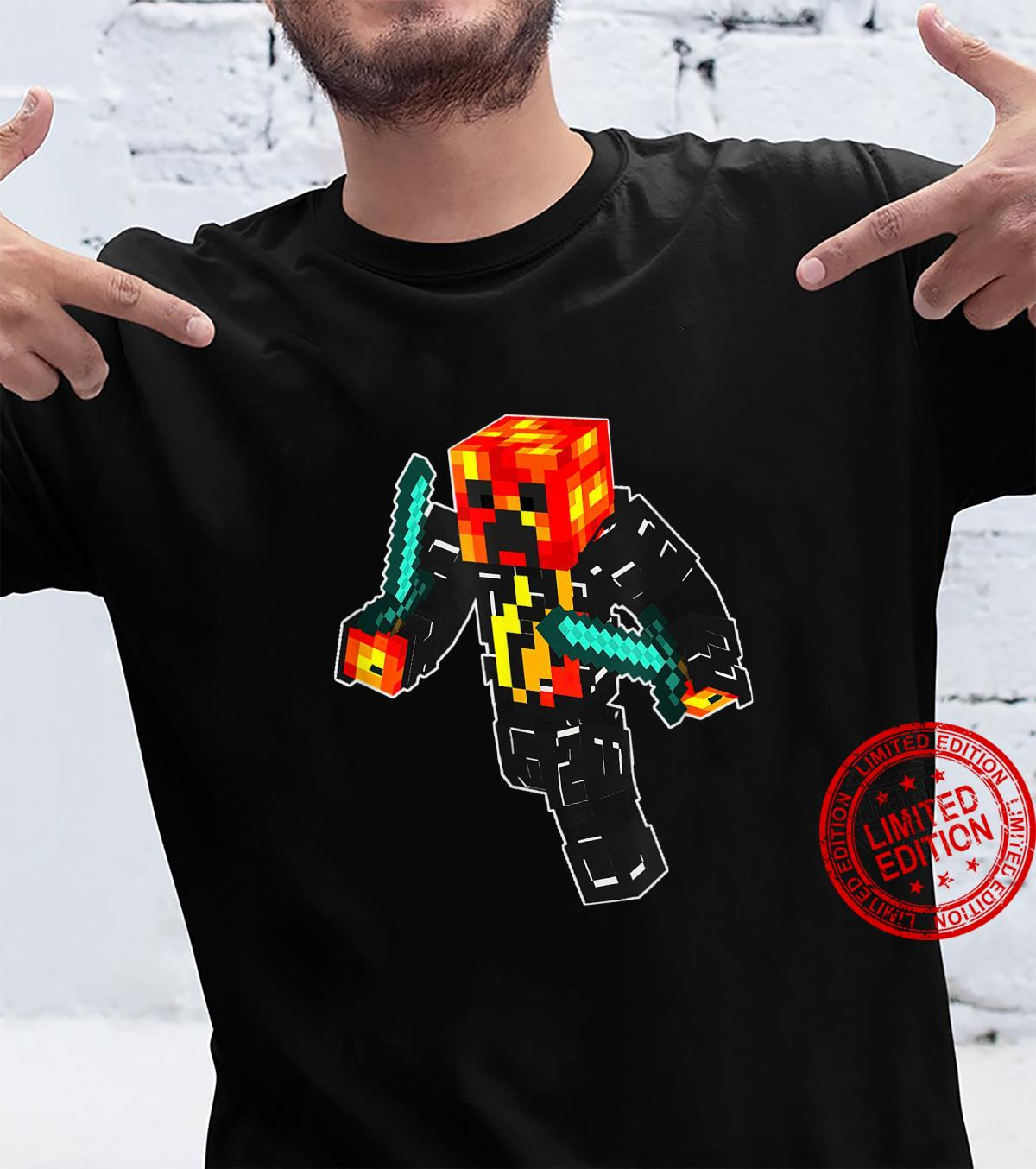 Game Playz Skin Pixel Style For Gaming Shirt