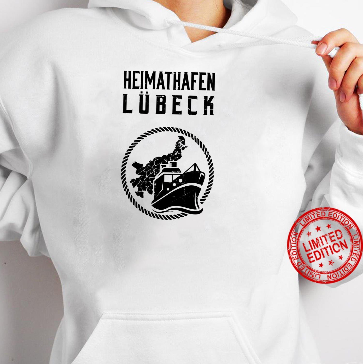 Heimathafen Lübeck Moin Lübecker Küste Ostsee Geschenk Shirt hoodie