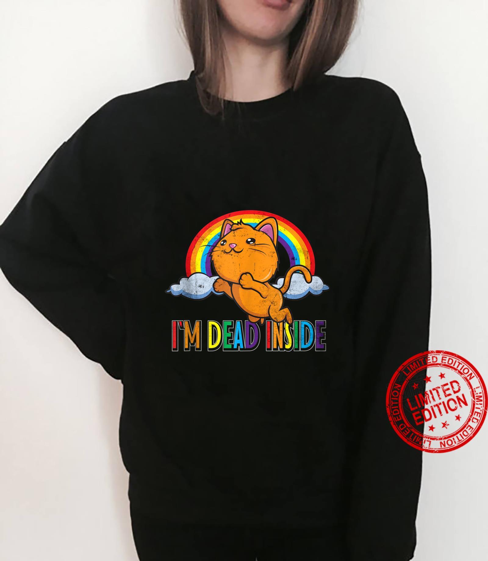 I'm Dead Inside Sarcastic Happy Kawaii Shirt sweater