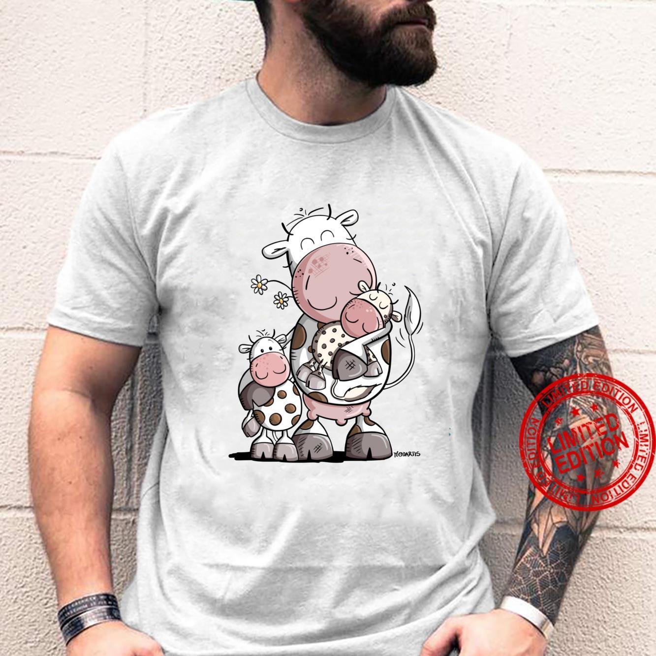 Lustige Mama Kuh Baby Und Kind I Mama Geschenk Fun Shirt