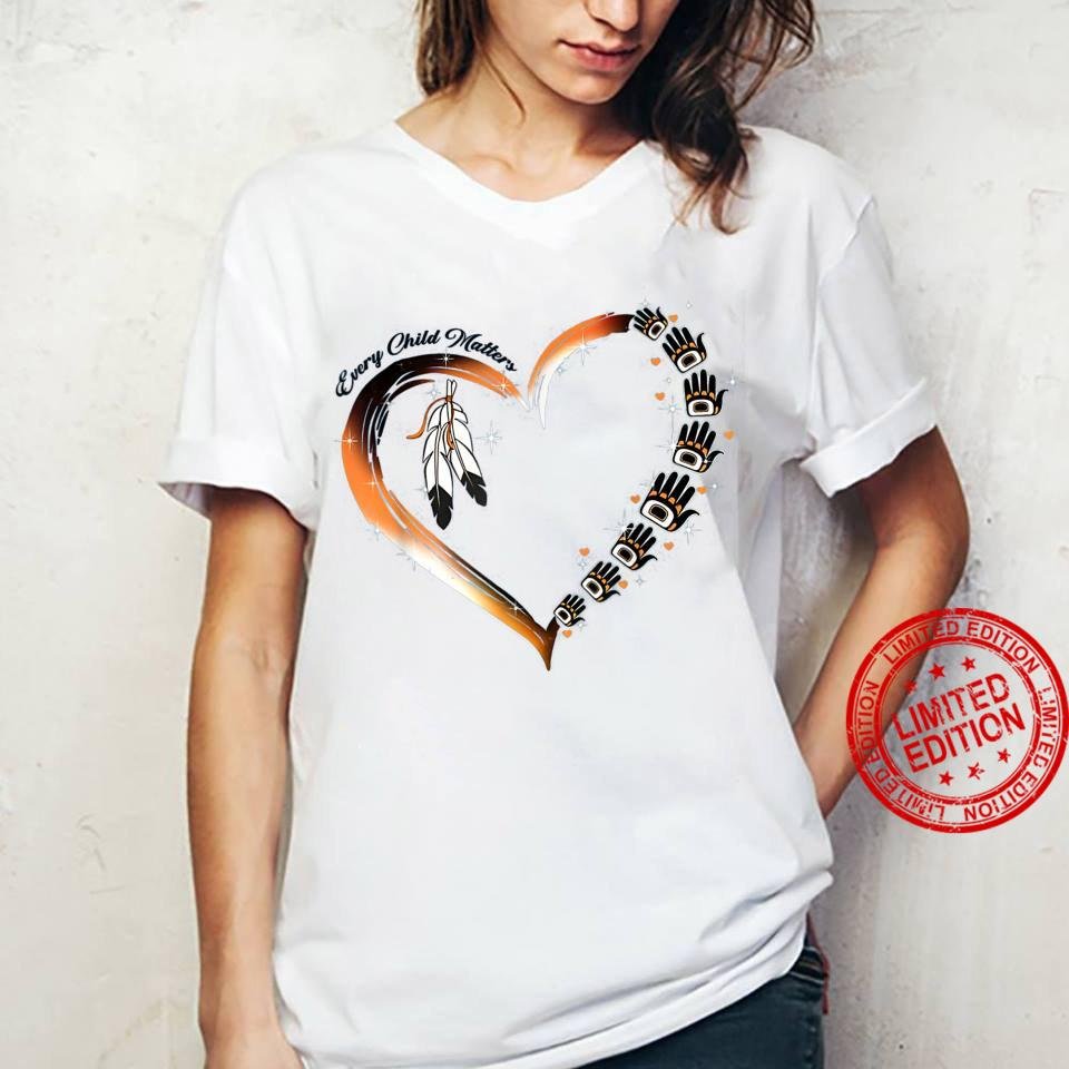 Native American Day 2021 Every Child Matters September 24 Shirt ladies tee