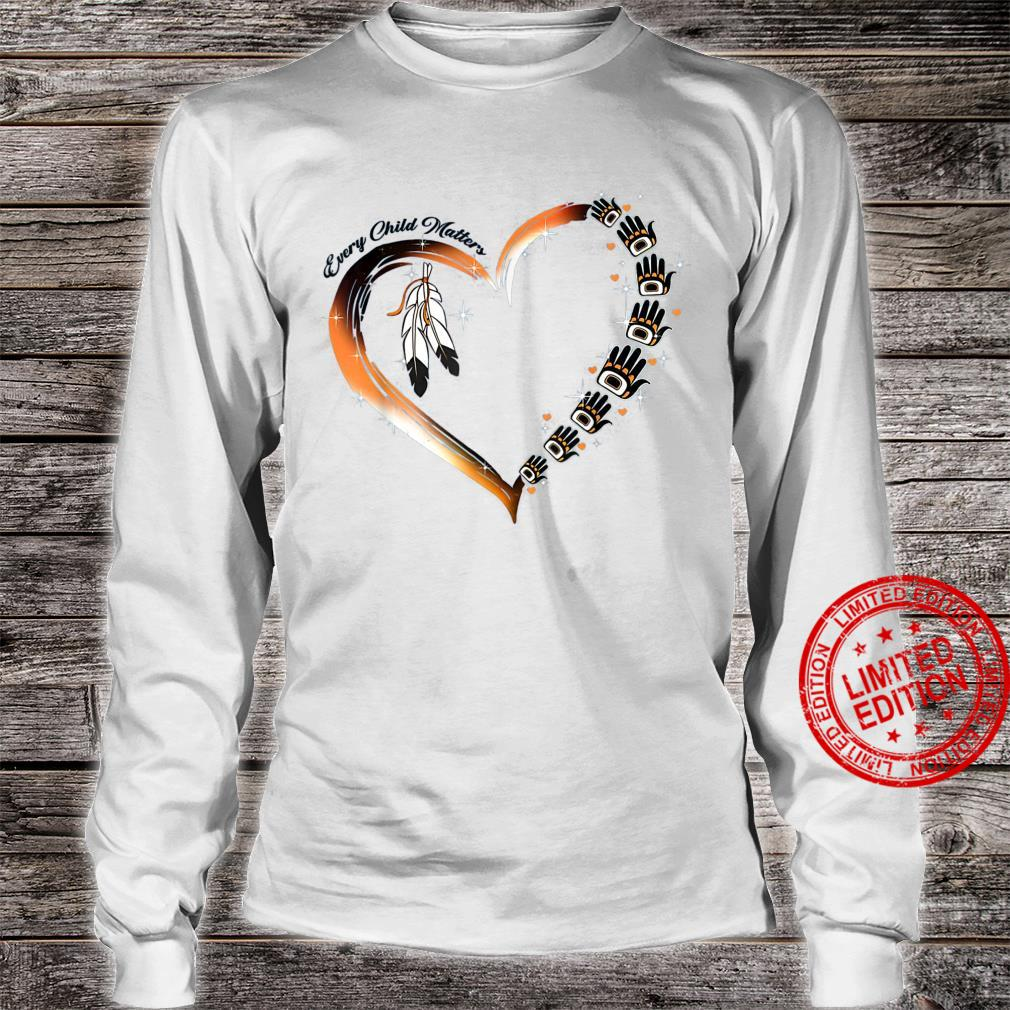Native American Day 2021 Every Child Matters September 24 Shirt long sleeved