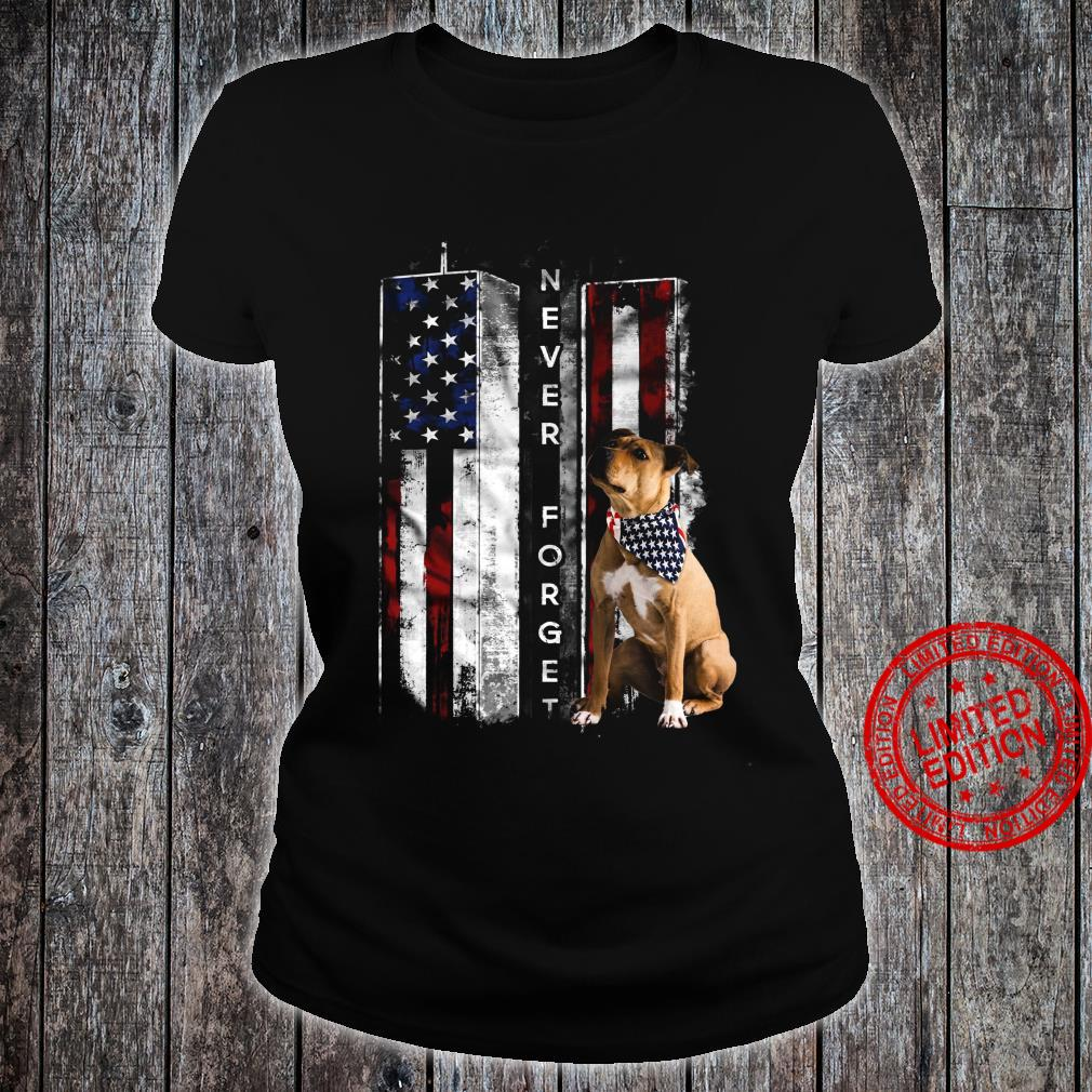 Never Forget Boxer Shirt ladies tee