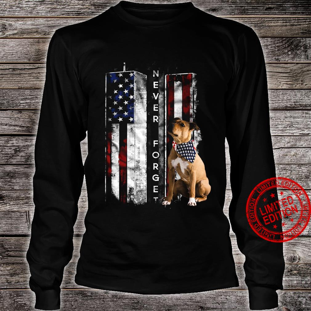 Never Forget Boxer Shirt long sleeved