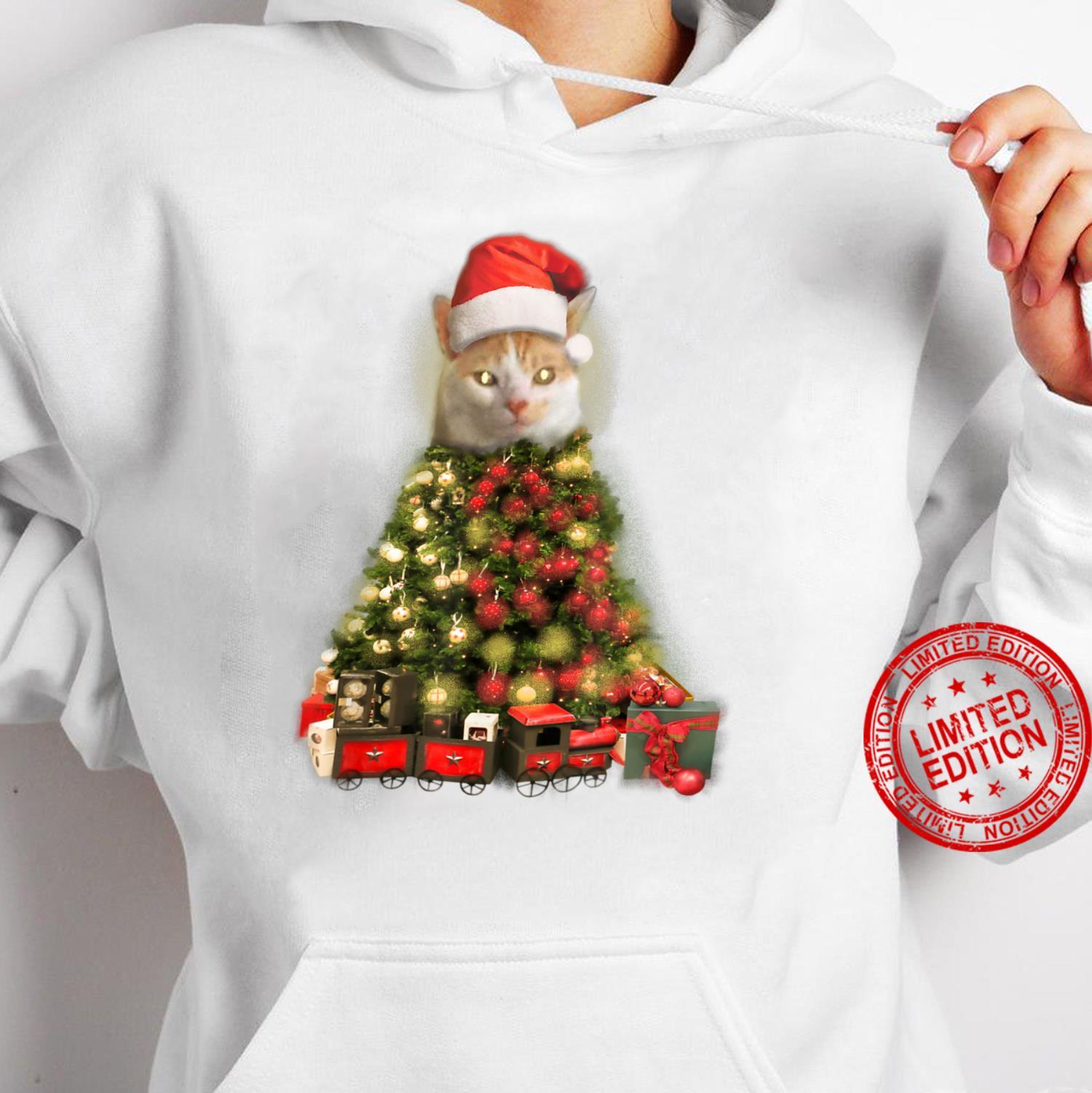 O Baxter Tree, O Baxter Tree Christmas Cat Shirt hoodie
