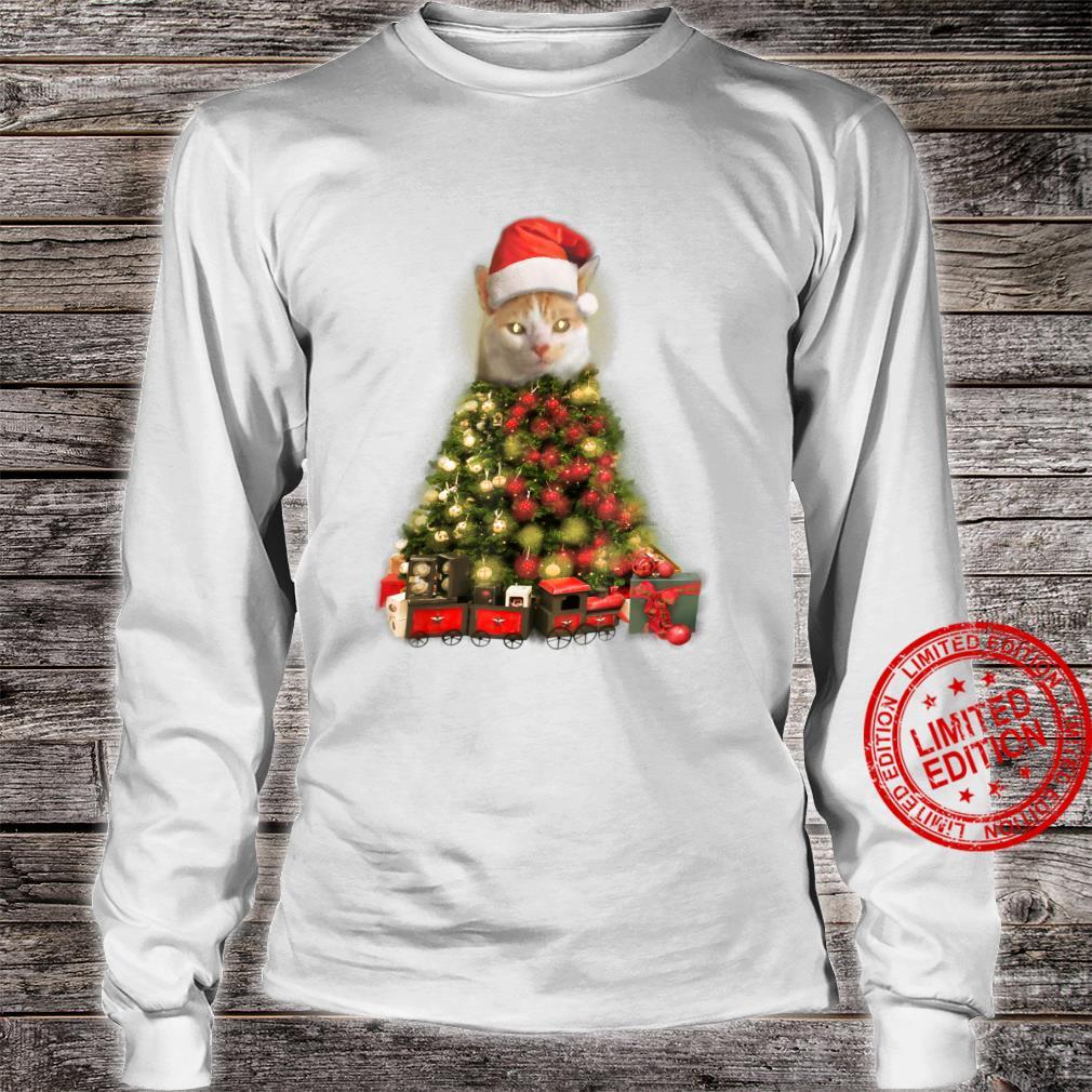 O Baxter Tree, O Baxter Tree Christmas Cat Shirt long sleeved
