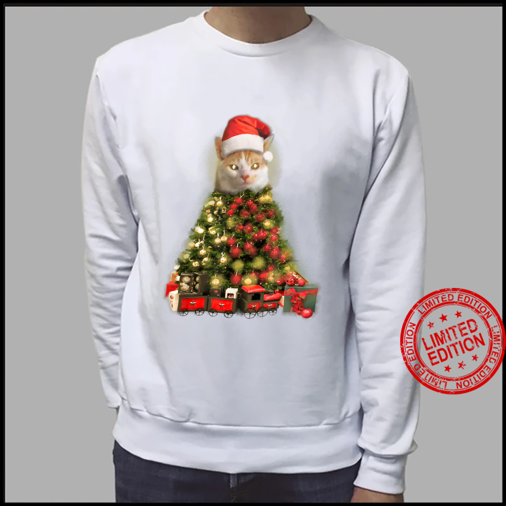 O Baxter Tree, O Baxter Tree Christmas Cat Shirt sweater