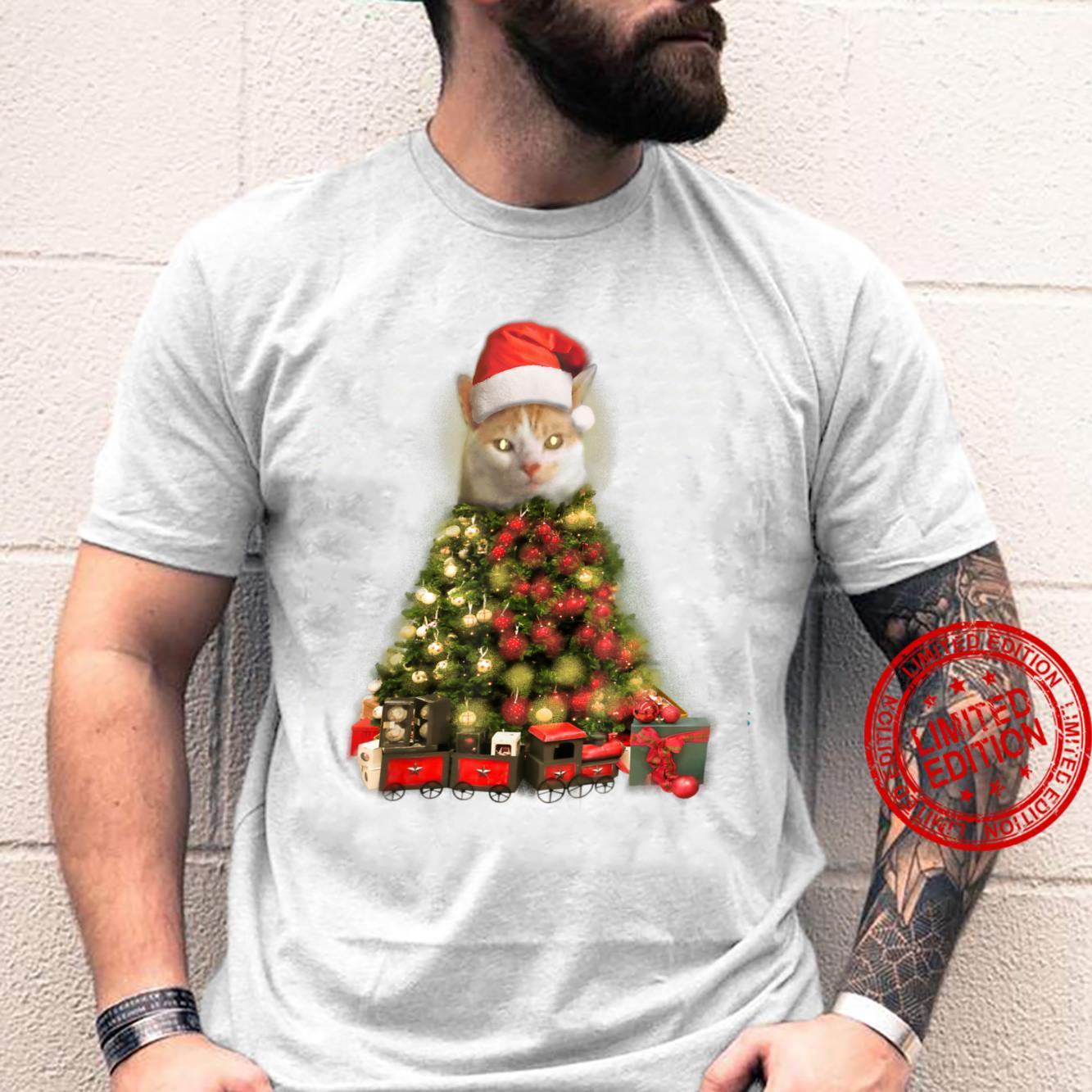 O Baxter Tree, O Baxter Tree Christmas Cat Shirt