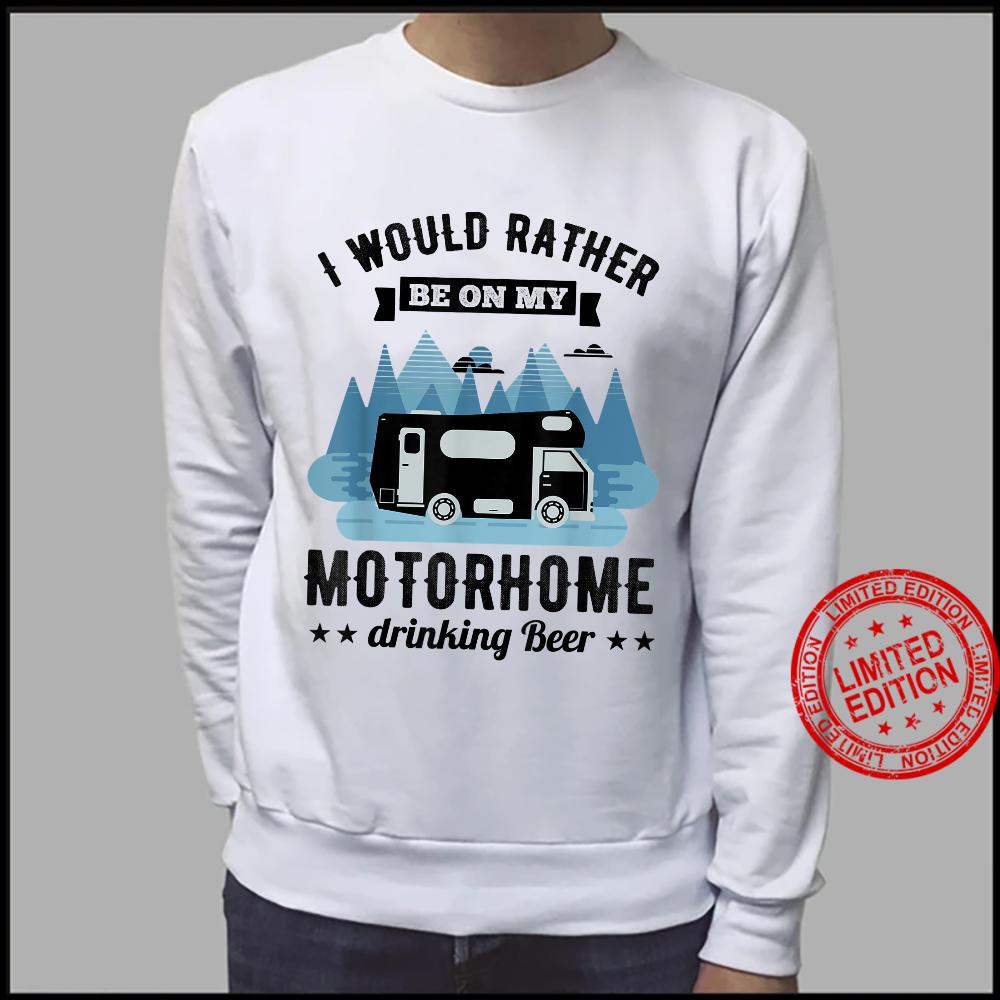 RV Motorhome Beer Husband Shirt sweater
