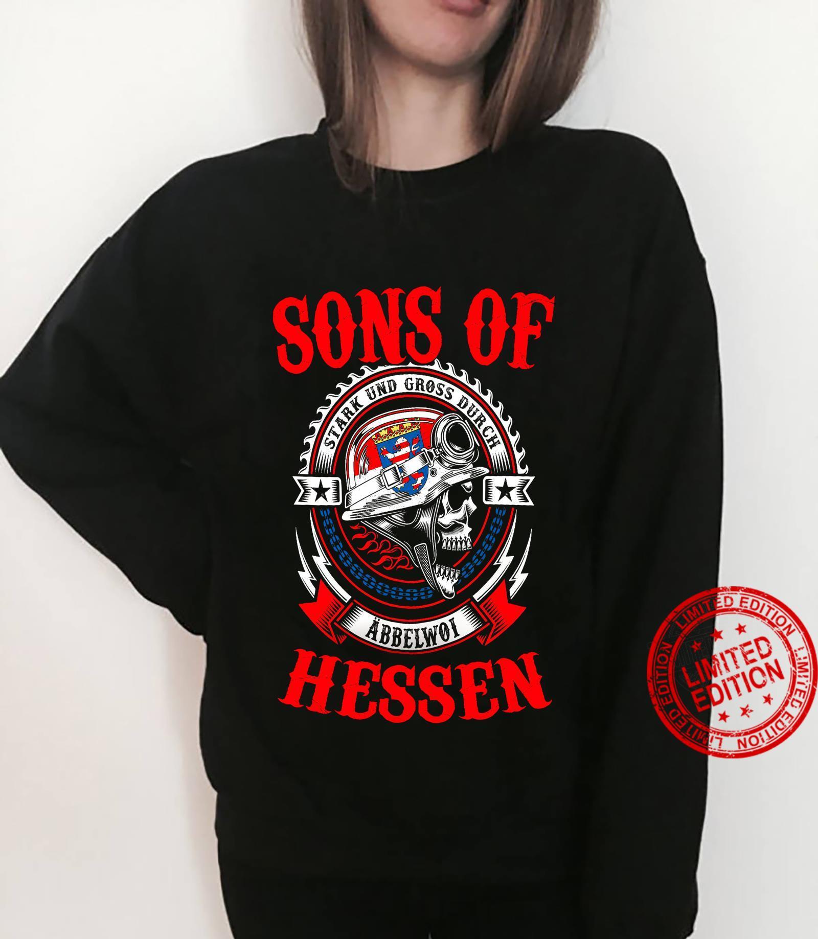 Sons Of Stark Und Gross Durch Abbelwoi Hessen Shirt sweater