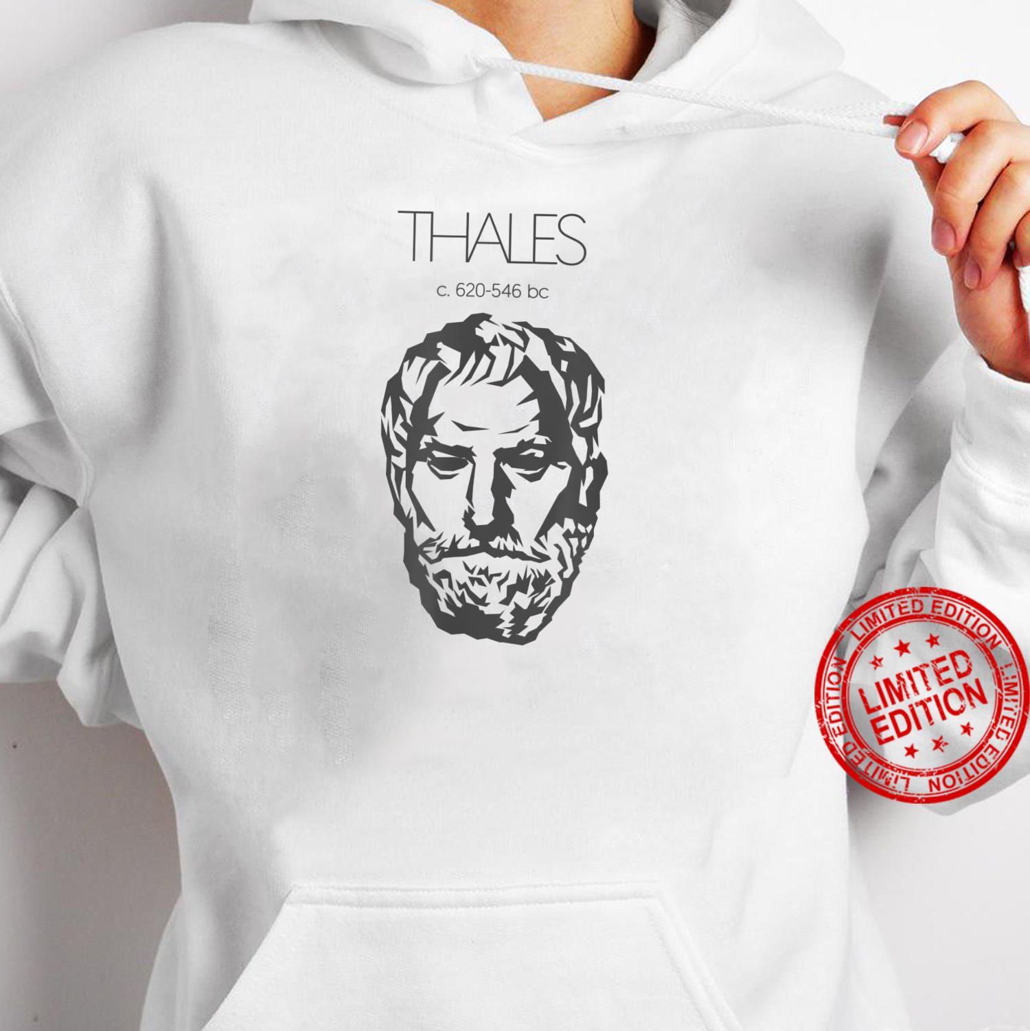 Thales of Miletus Ancient Greek Philosopher Shirt hoodie