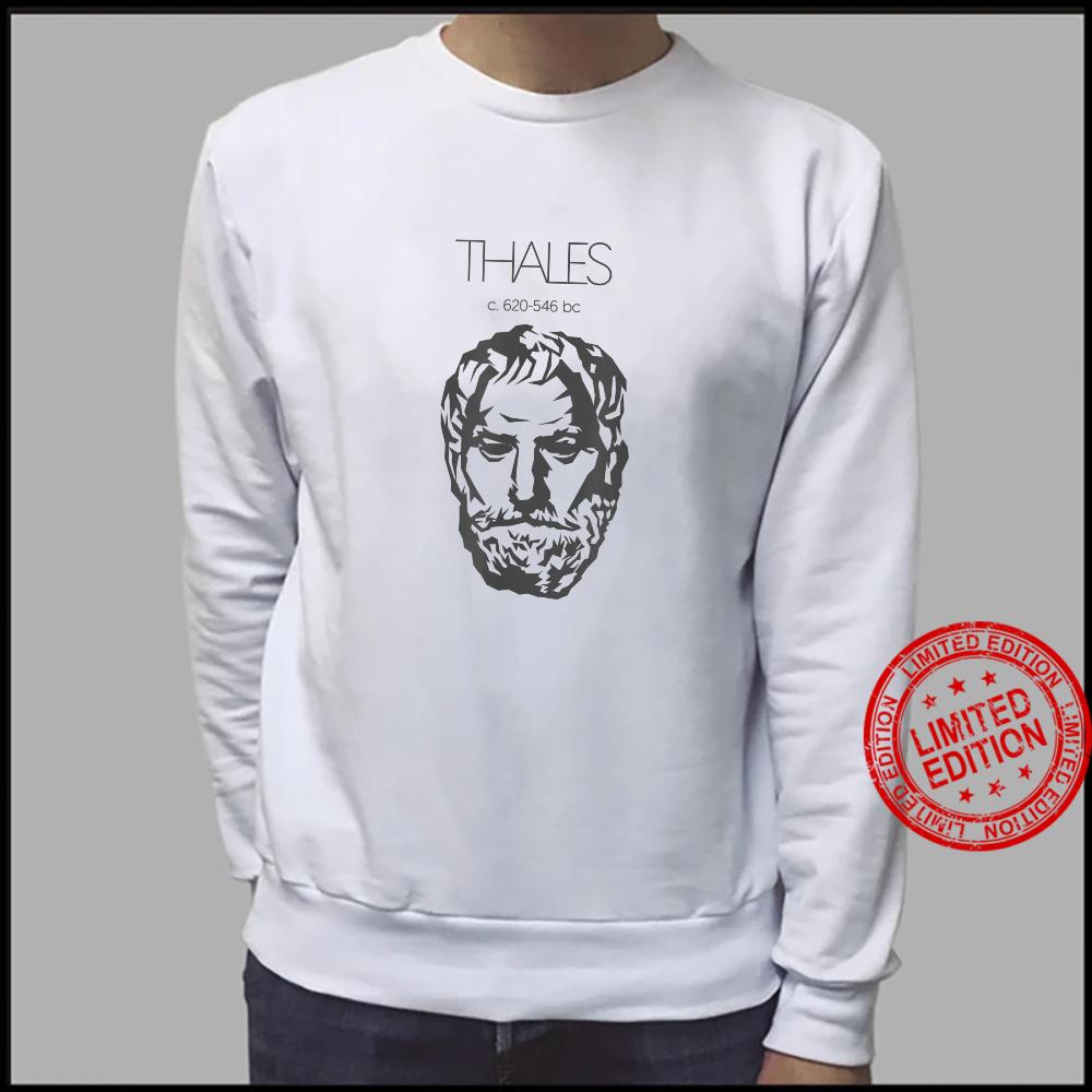 Thales of Miletus Ancient Greek Philosopher Shirt sweater