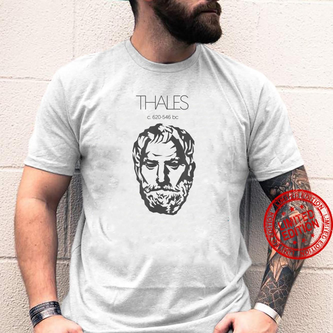 Thales of Miletus Ancient Greek Philosopher Shirt