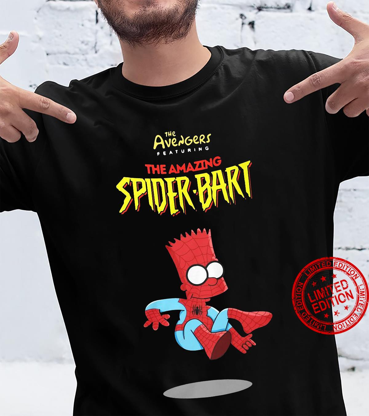 The Avengers Peaturing The Amazing Spider-Bart shirt