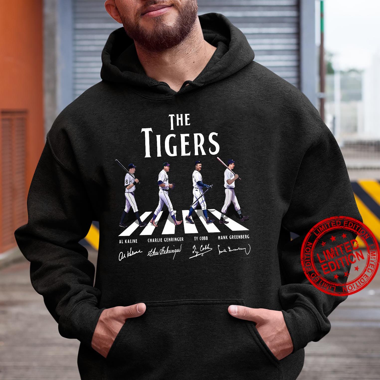 The Tigers Al Kaline Charlie Gehringer Ty Cobb Hank Greenberg Shirt hoodie