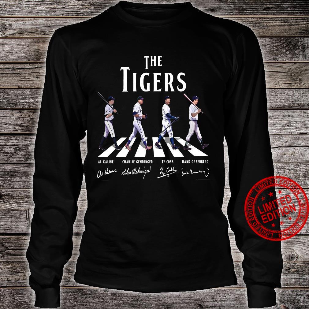 The Tigers Al Kaline Charlie Gehringer Ty Cobb Hank Greenberg Shirt long sleeved
