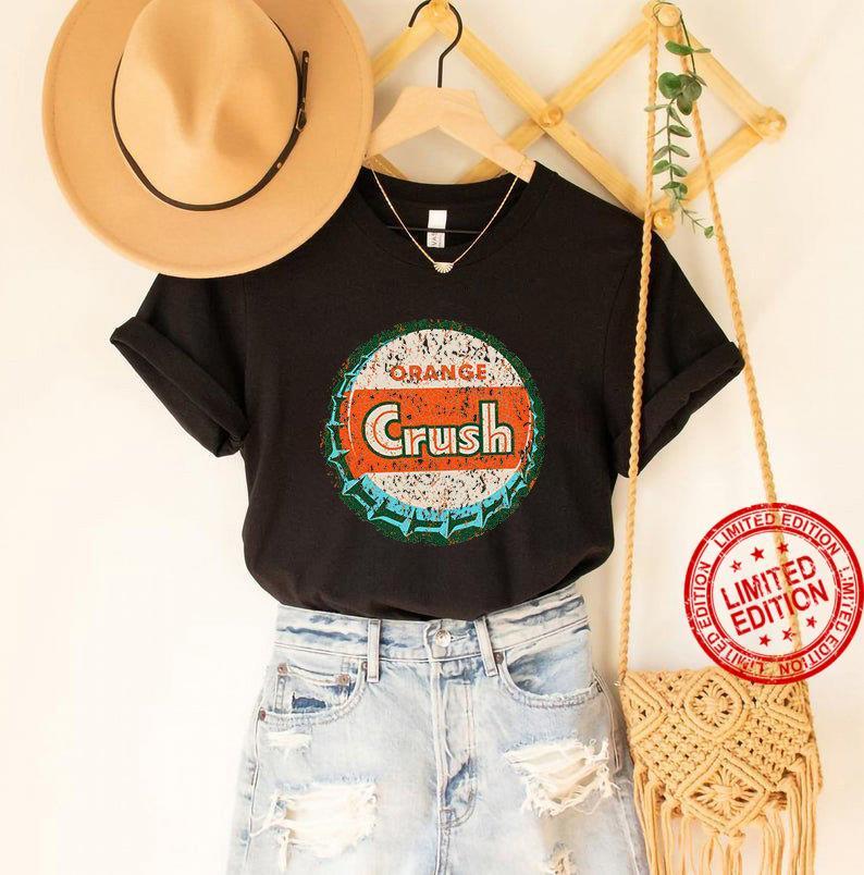 Vintage Orange Crush Sign USA Shirt