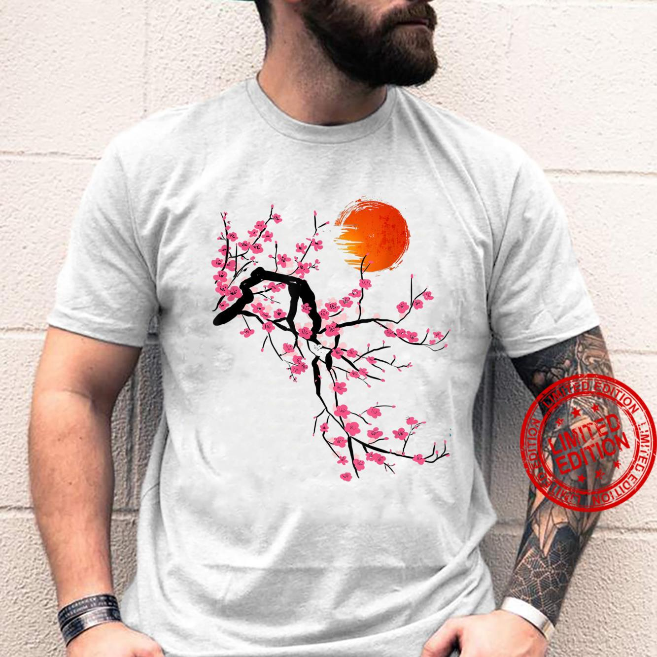 Vintage Sakura Cherry Blossom Tree Japanese Culture Shirt