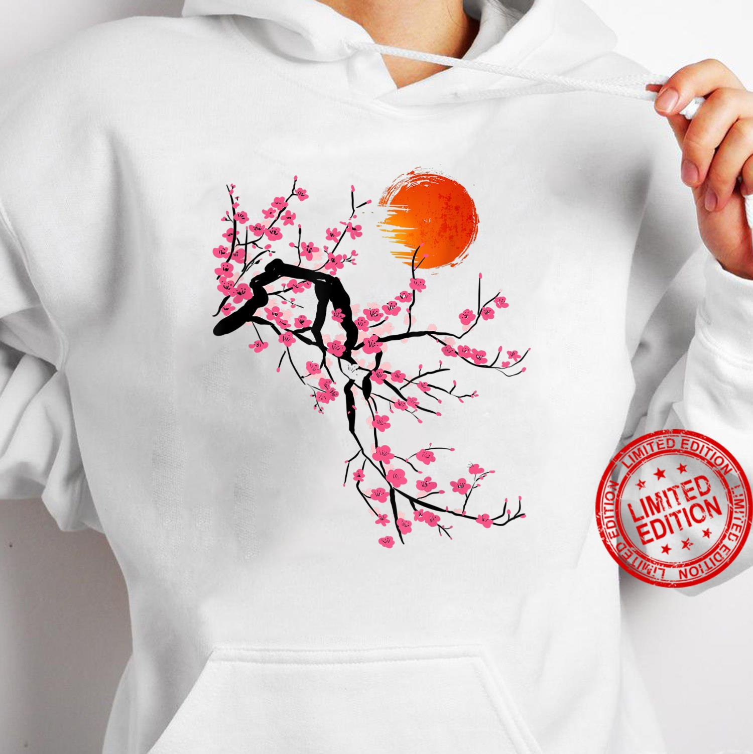 Vintage Sakura Cherry Blossom Tree Japanese Culture Shirt hoodie