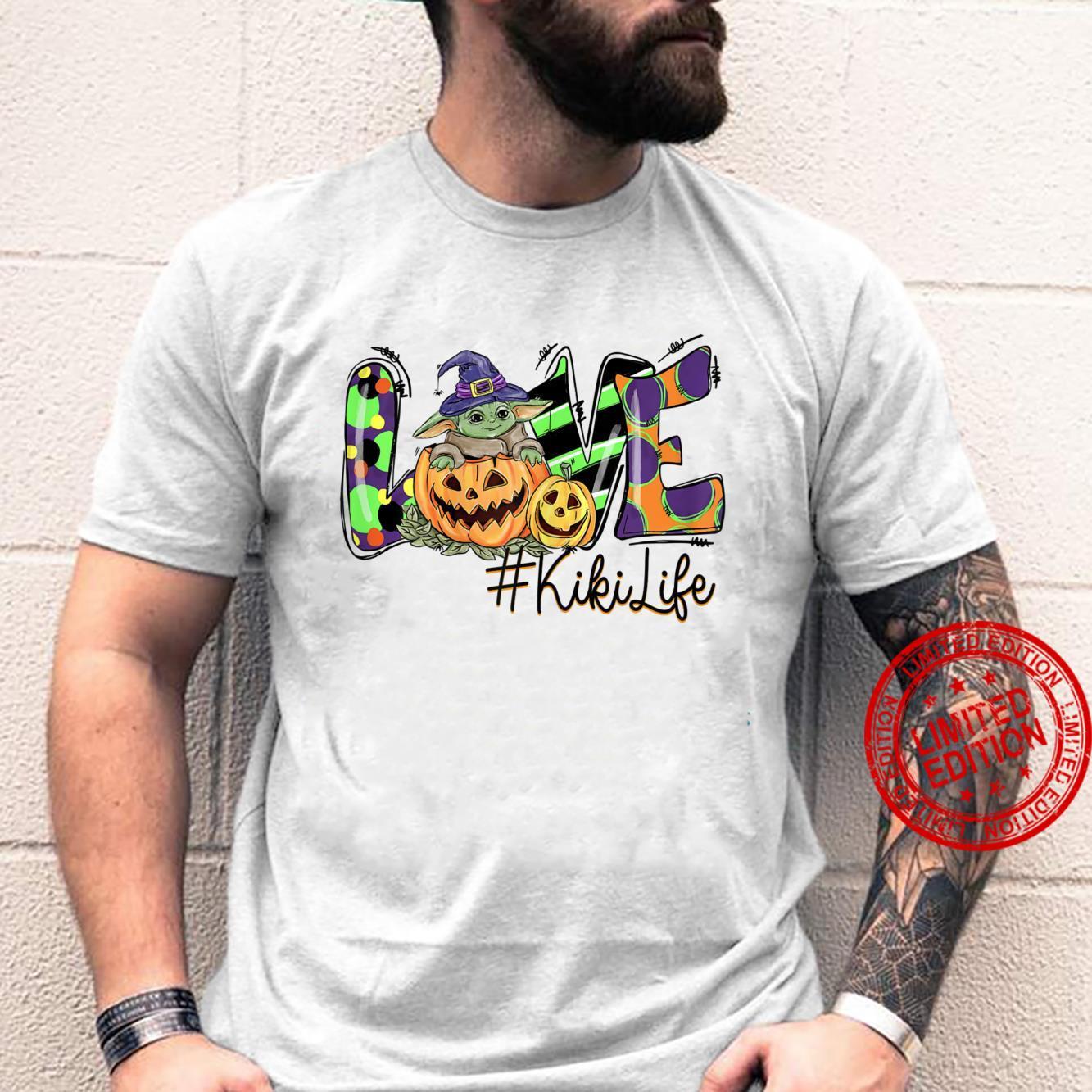 Womens Love Kiki life Pumpkin Halloween Shirt