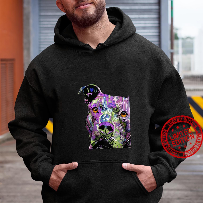 Womens PitBulls Colourful Pit Bulls Shirt hoodie
