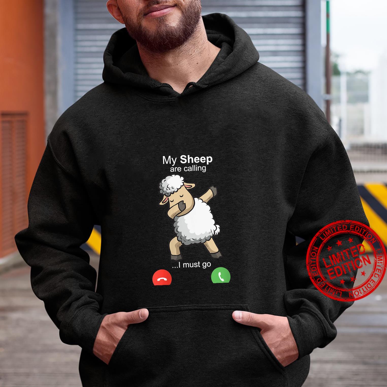 Womens Sheep Art Sheepherders Farmer Wool Costume Motive Shirt hoodie