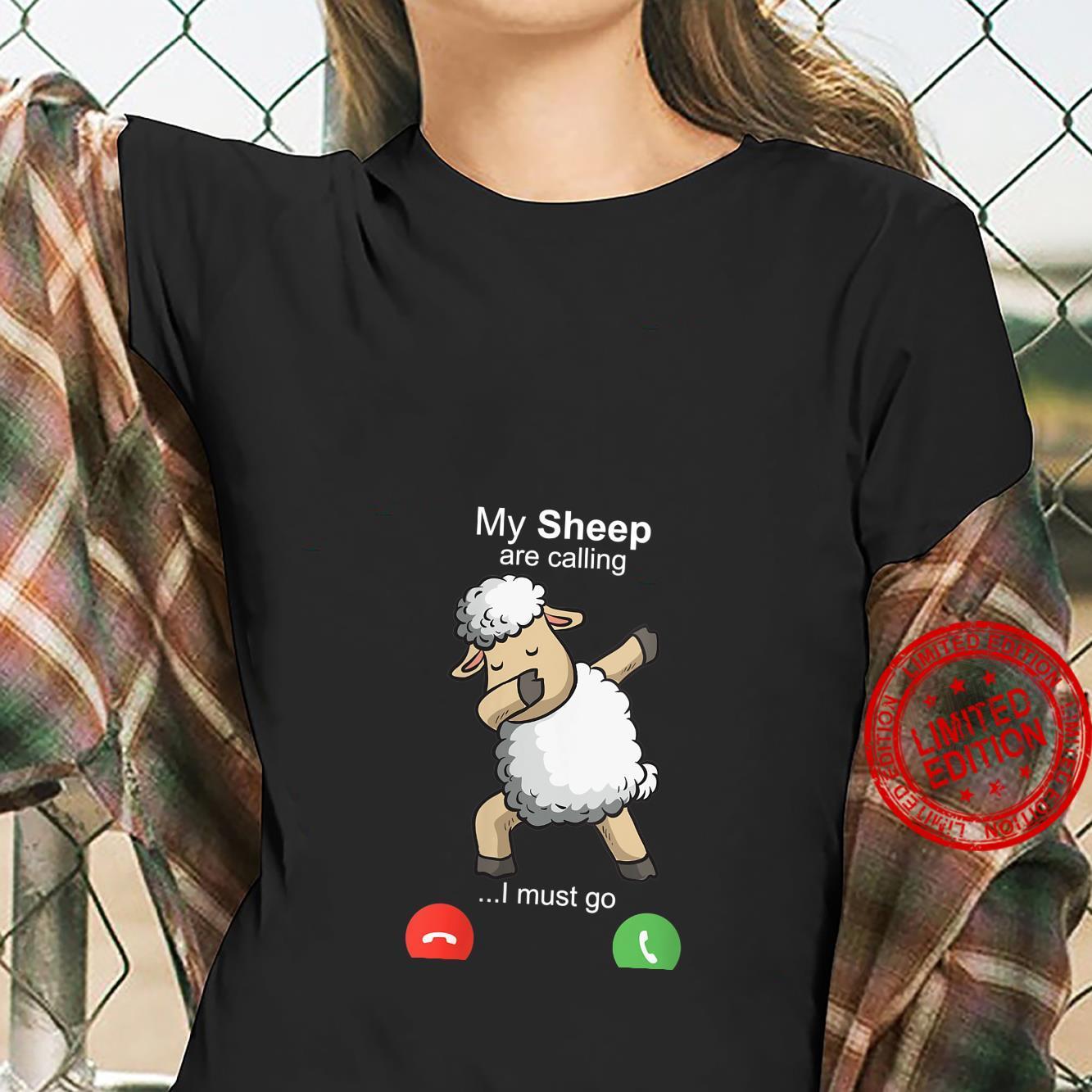 Womens Sheep Art Sheepherders Farmer Wool Costume Motive Shirt ladies tee