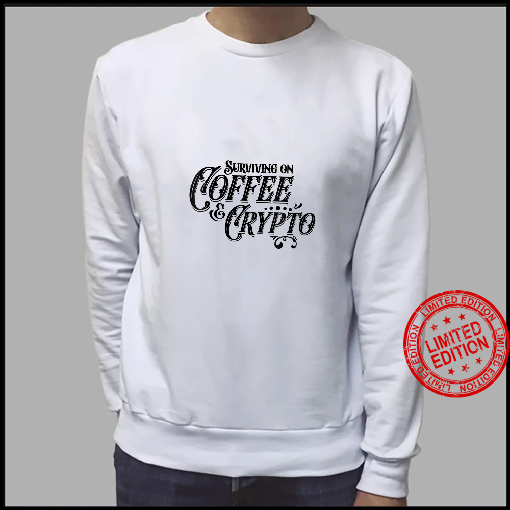 Womens Vintage Cryptography Stock Trader Crypto Addict Coffee Shirt sweater