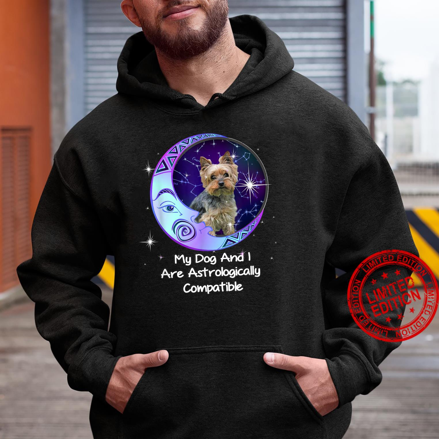 Yorkie Puppy Yorkshire Terrier Owners Astrological Zodiac Shirt hoodie