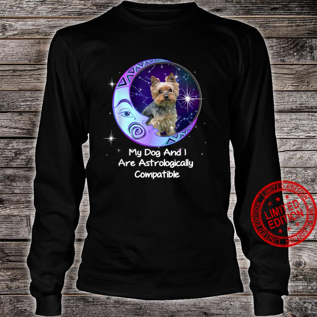Yorkie Puppy Yorkshire Terrier Owners Astrological Zodiac Shirt long sleeved