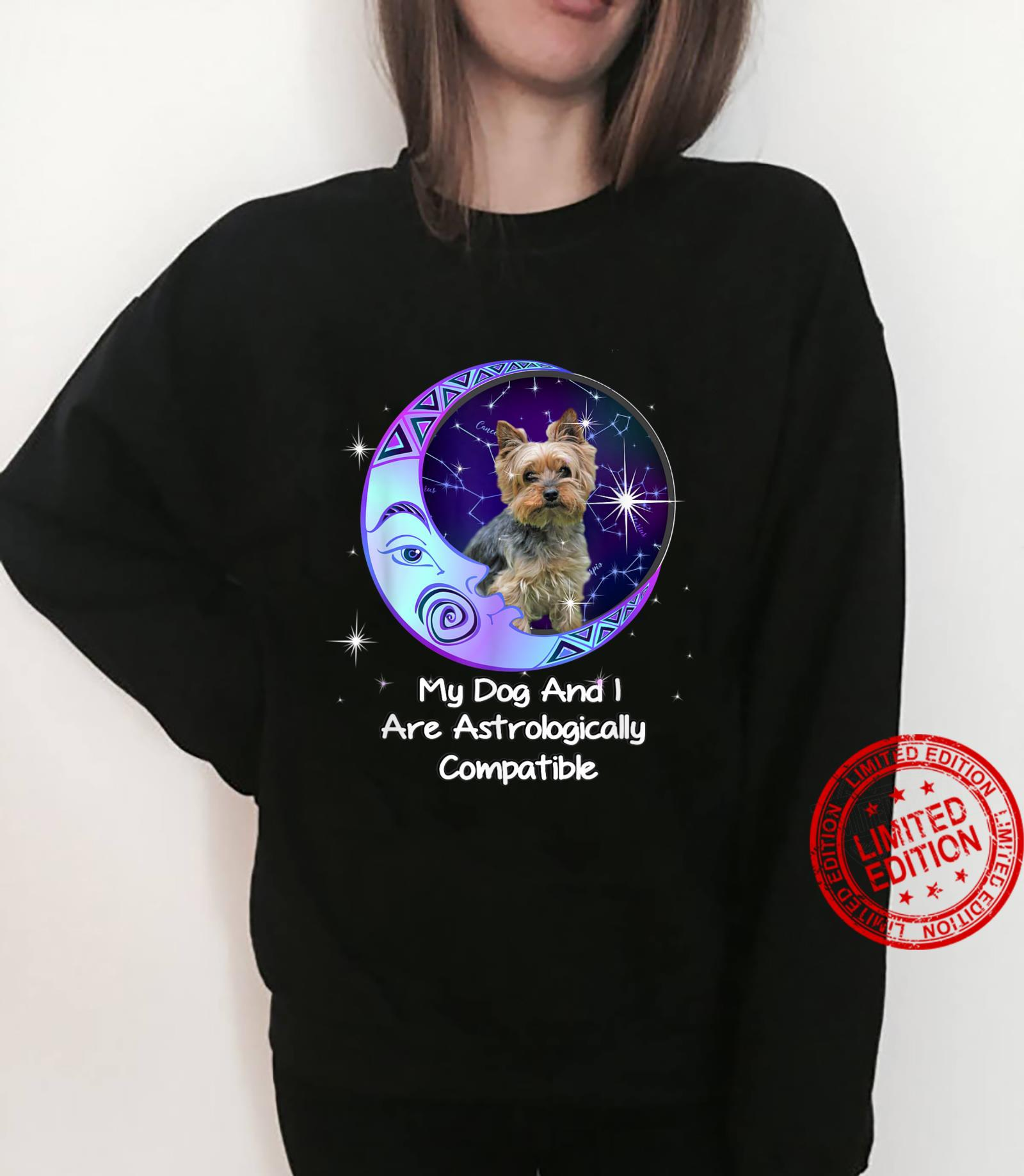Yorkie Puppy Yorkshire Terrier Owners Astrological Zodiac Shirt sweater