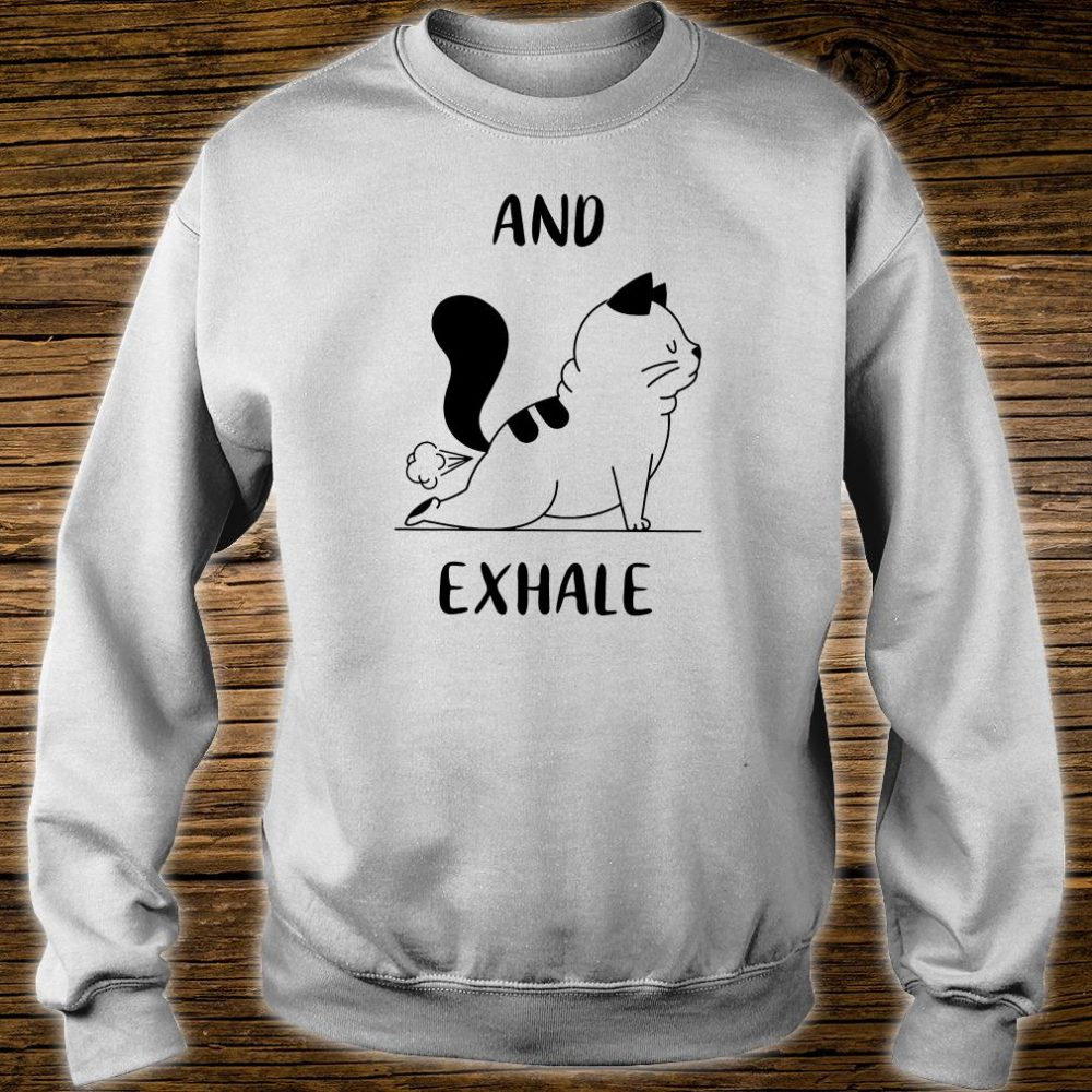 And exhale shirt sweater