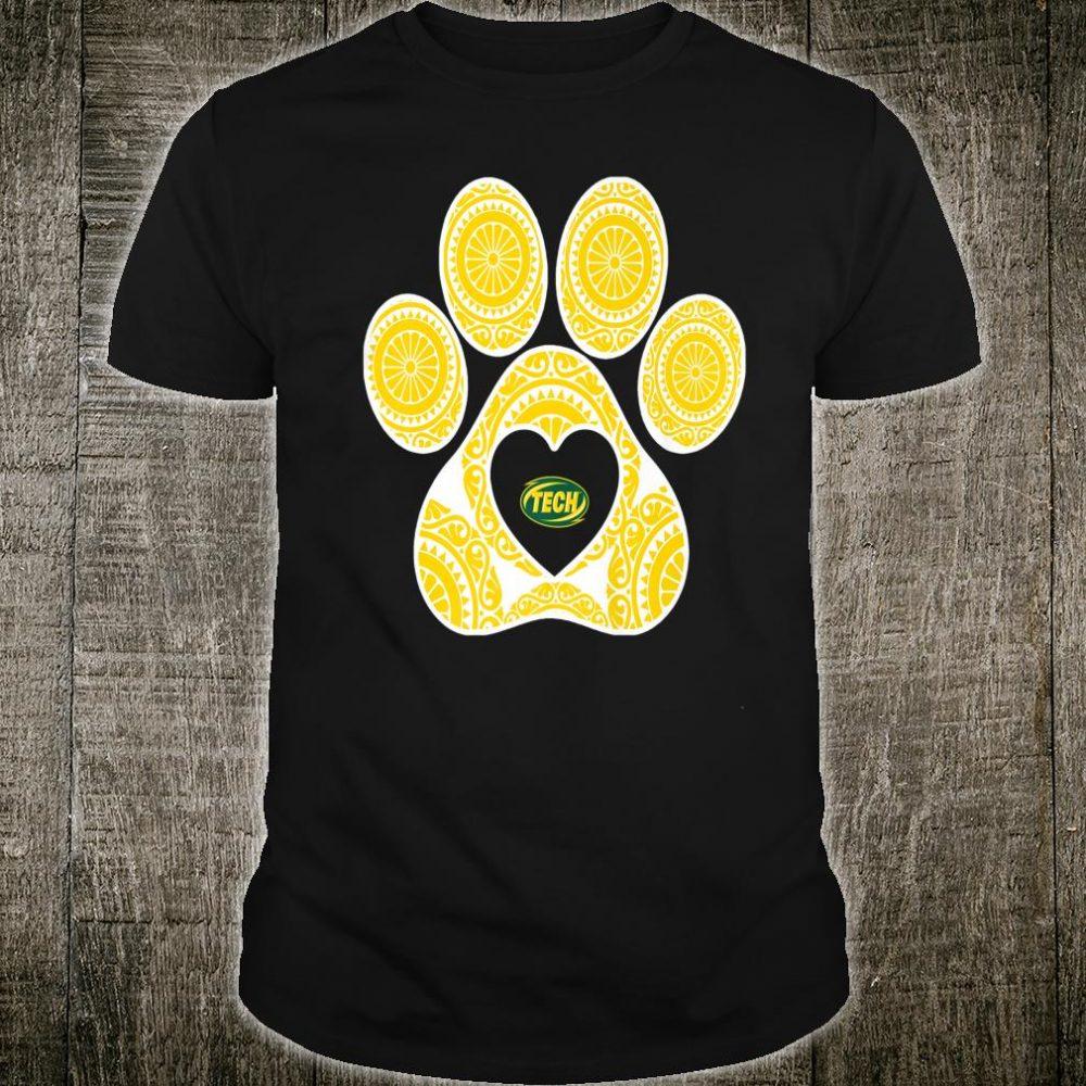 Arkansas Tech Golden Suns Mandala Paw Team Tailgate Shirt