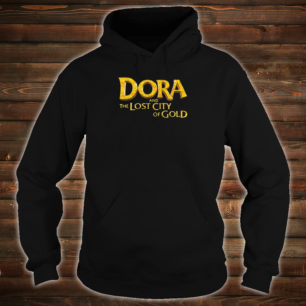 Dora and the lost city of Gold shirt hoodie