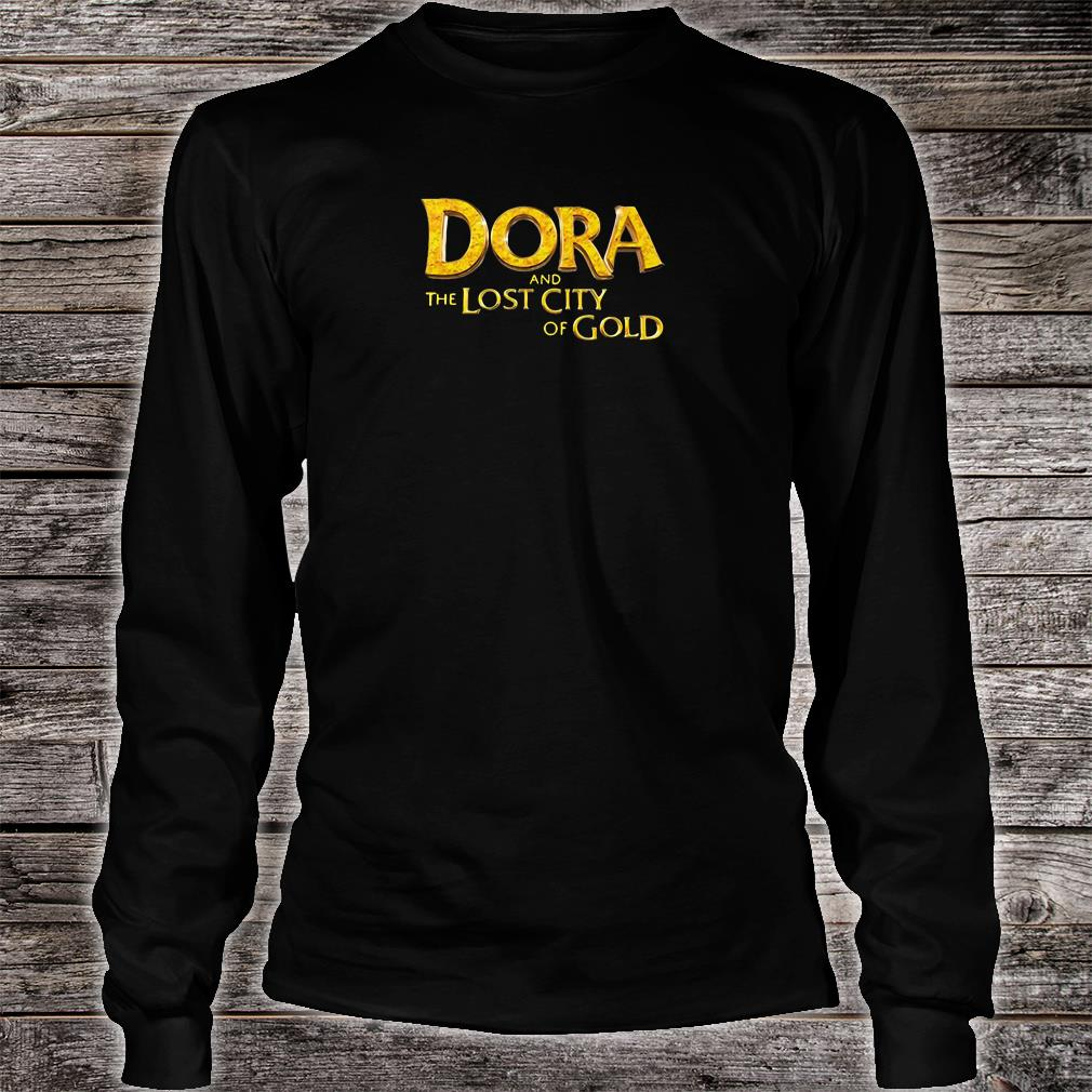 Dora and the lost city of Gold shirt long sleeved