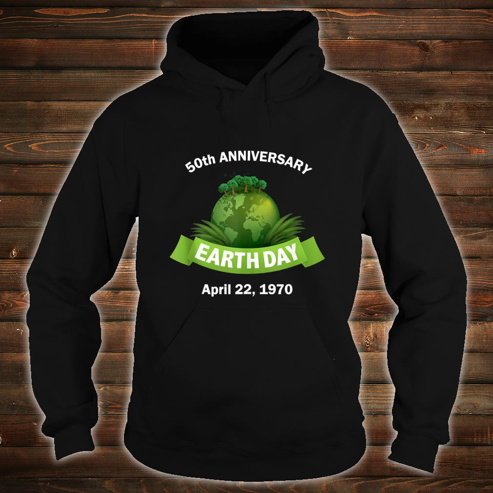 Earth Day 50th Anniversary 2020 Change the World Shirt hoodie