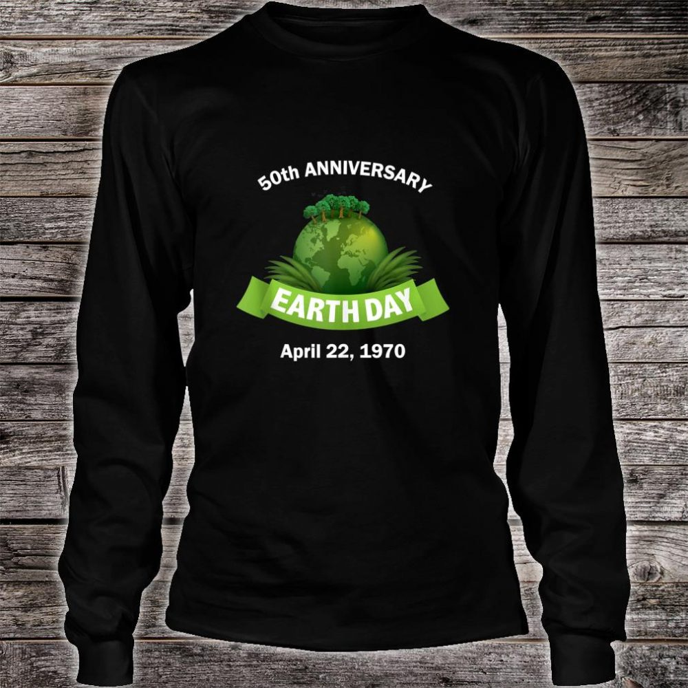 Earth Day 50th Anniversary 2020 Change the World Shirt long sleeved