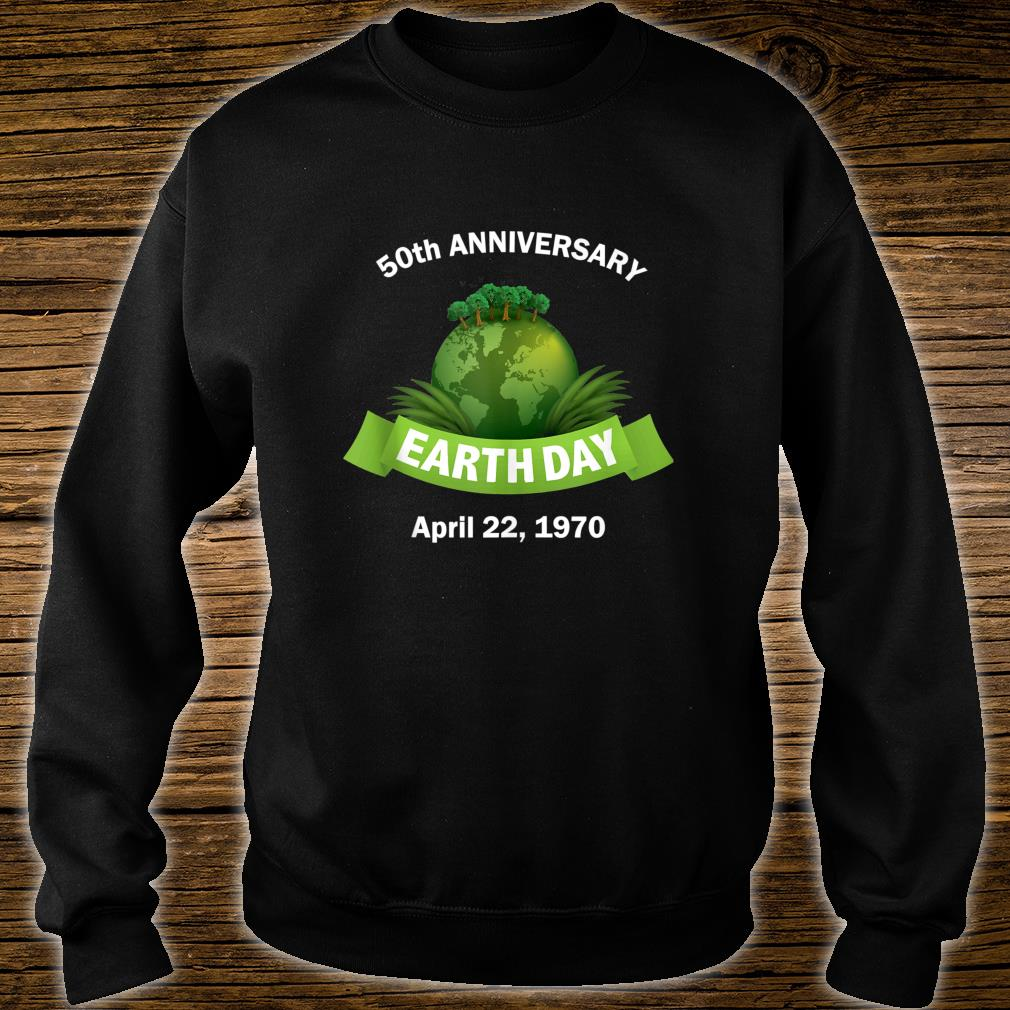 Earth Day 50th Anniversary 2020 Change the World Shirt sweater