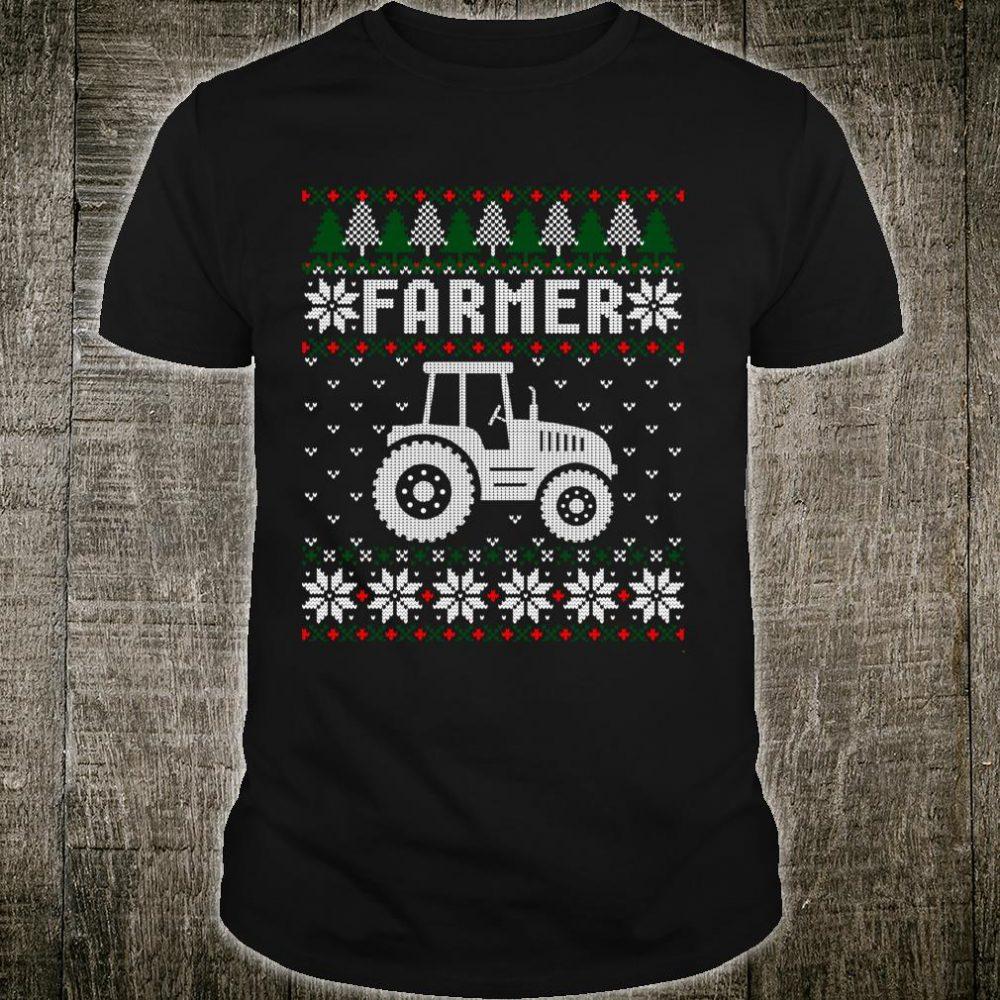 Farmer Christmas Ugly Xmas Shirt
