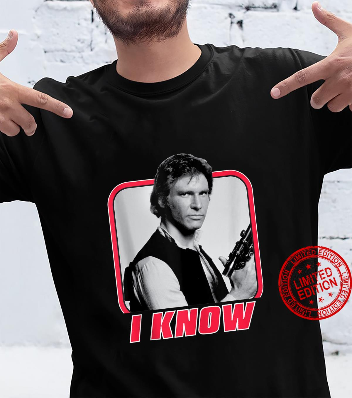 Han Solo I Know Valentine's Day Shirt