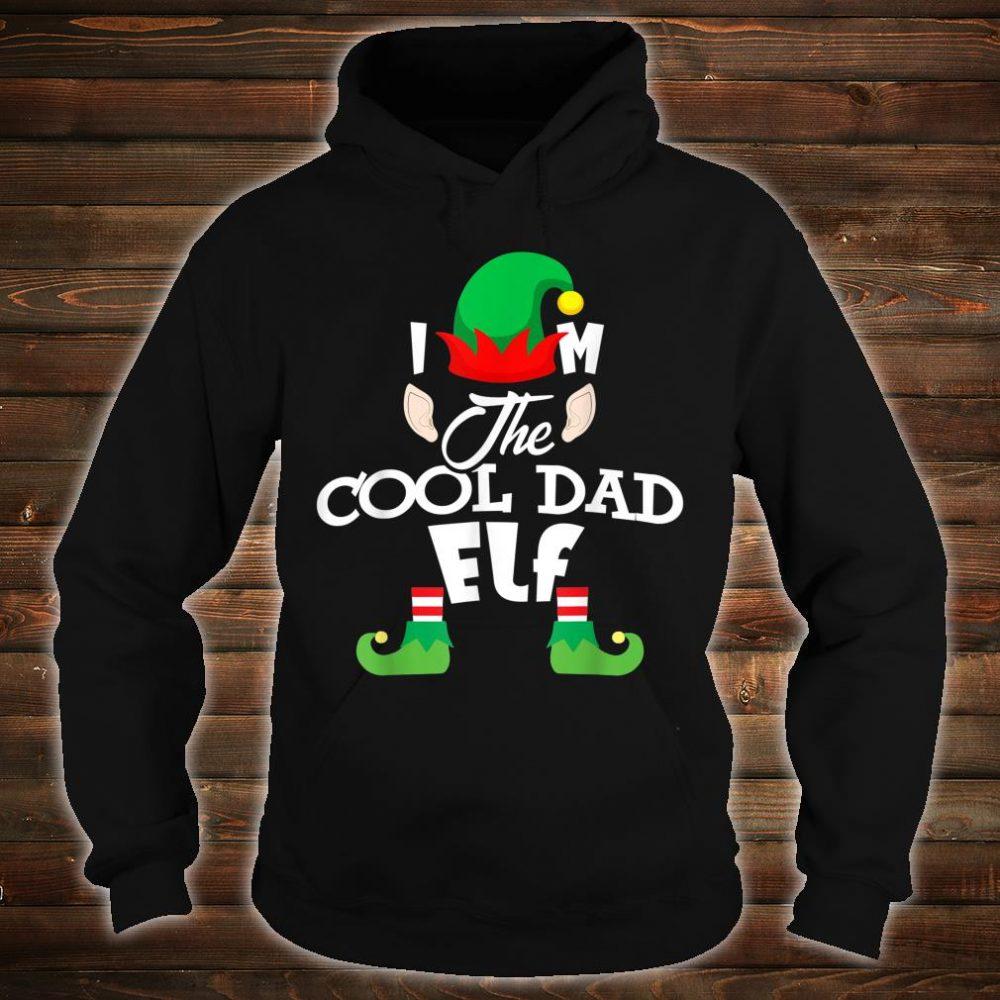 I'm The Cool Dad Elf Christmas Shirt hoodie