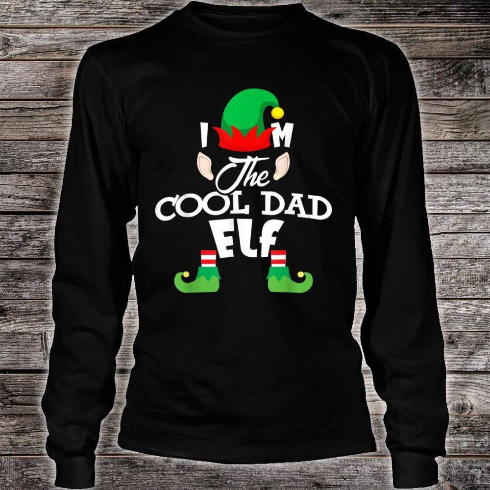 I'm The Cool Dad Elf Christmas Shirt long sleeved